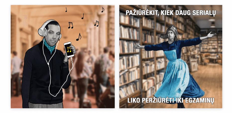 """""""Prieš Egzaminą"""" socialinių tinklų komunikacija AdDrama"""